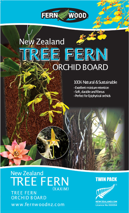 tree fern orchid board