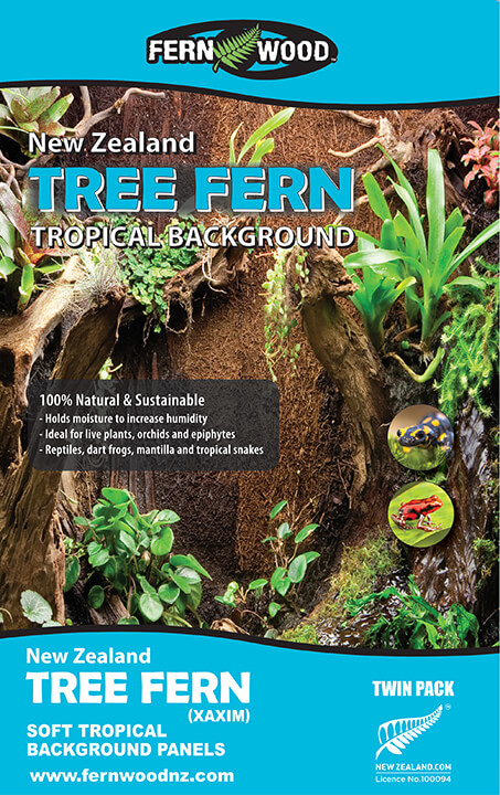 Terrarium Panel Regular, Twin Pack – Size: 12 x 6 x 0.6inch / 30.5 x 15.2 x 1.5cm